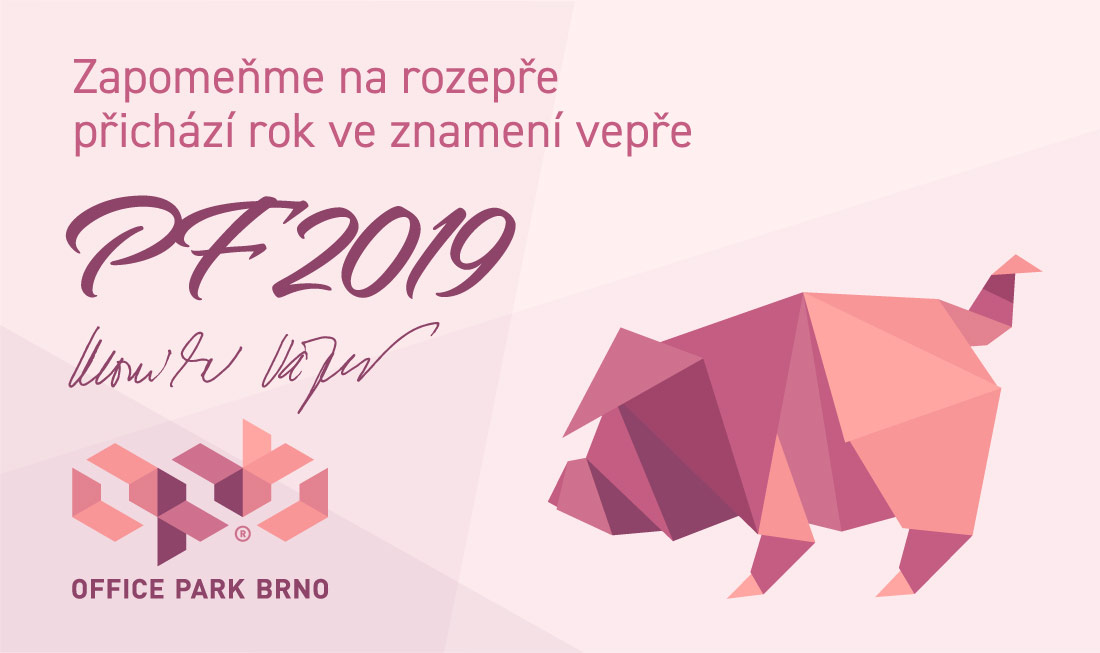 Office Park Brno - PF 2019
