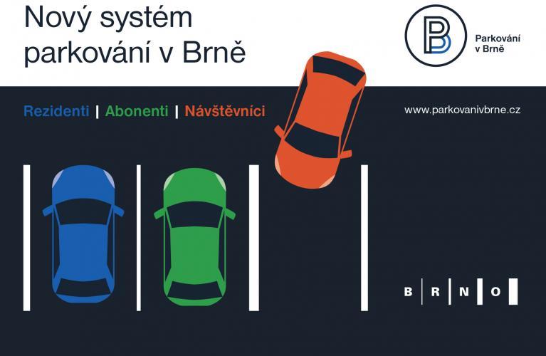 Rezidentní parkování v Brně- Office Park Brno